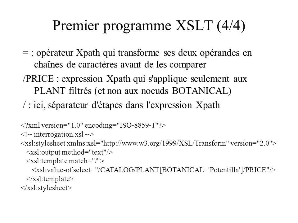 Premier programme XSLT (4/4)