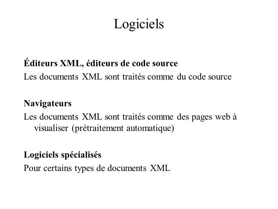Logiciels Éditeurs XML, éditeurs de code source