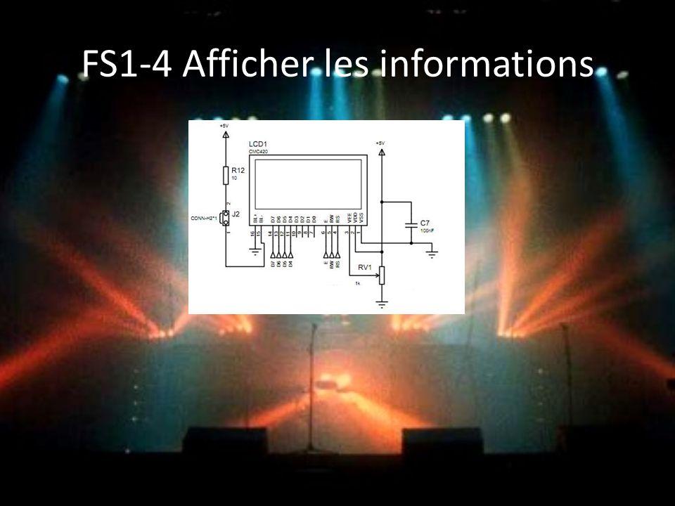 FS1-4 Afficher les informations