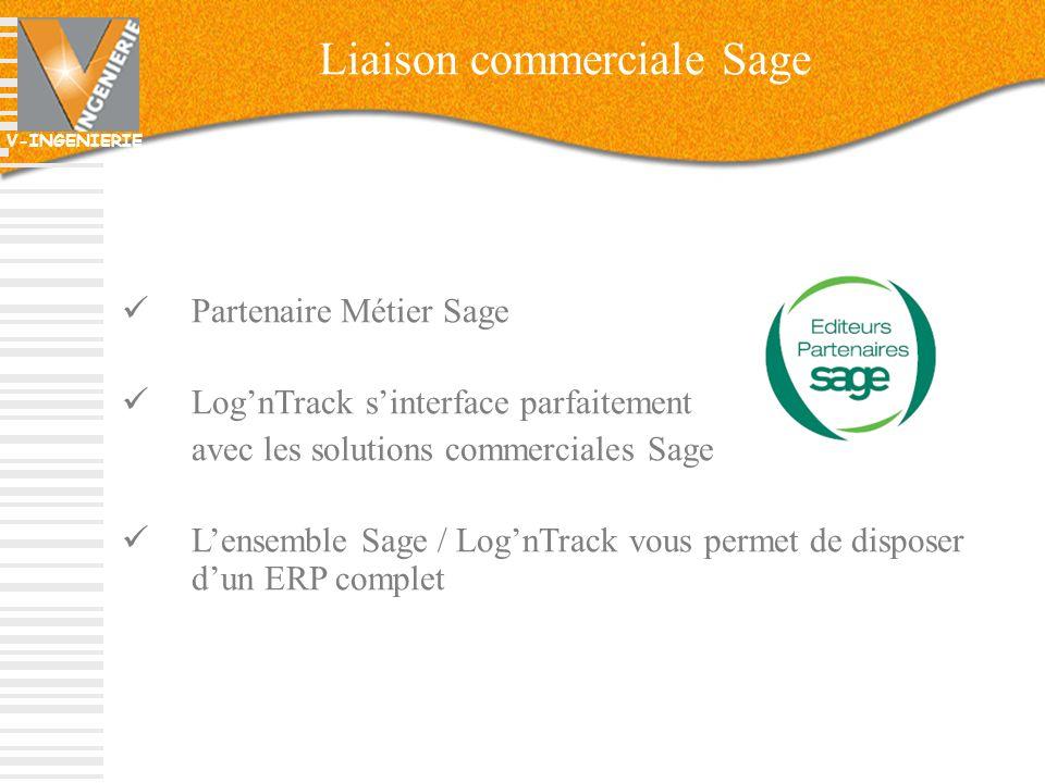 Liaison commerciale Sage