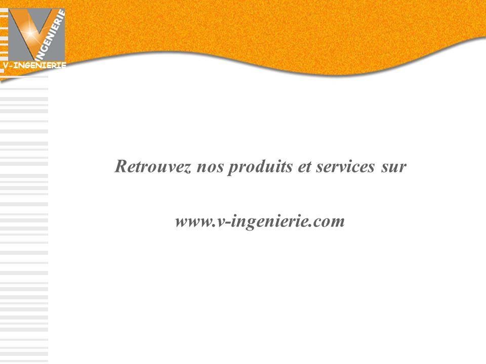 Retrouvez nos produits et services sur