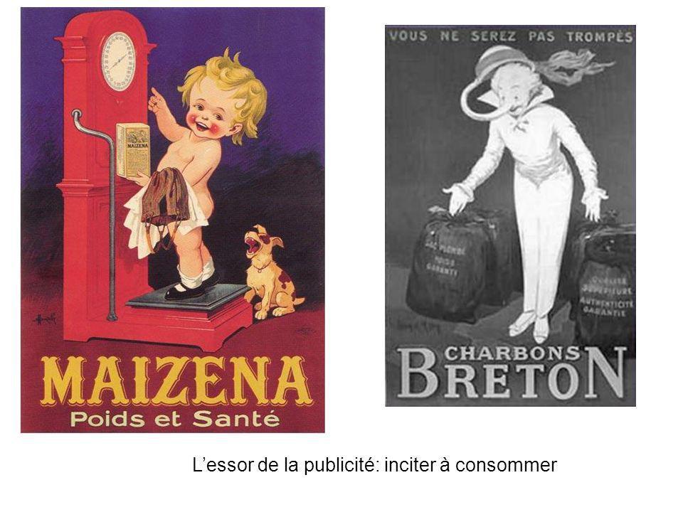 L'essor de la publicité: inciter à consommer