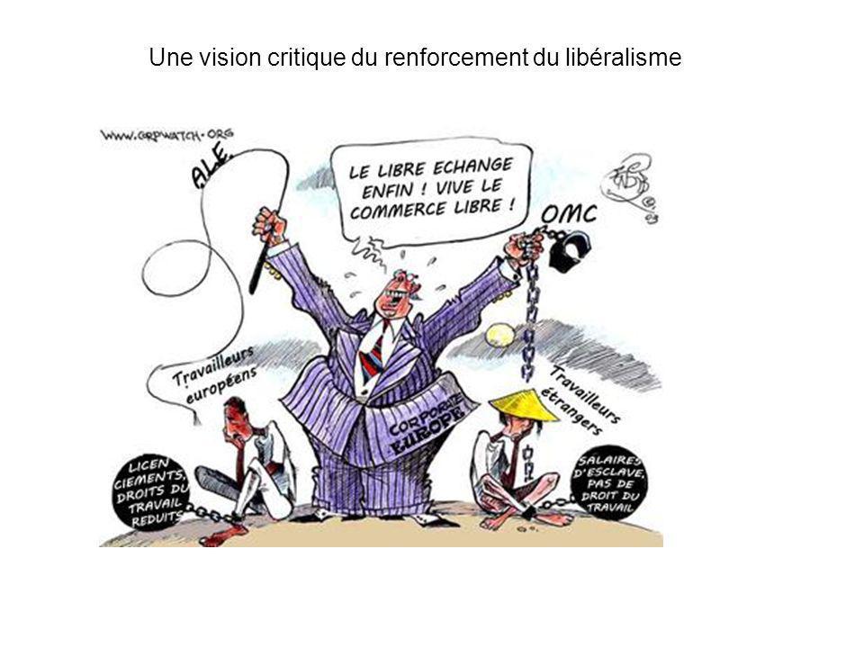 Une vision critique du renforcement du libéralisme