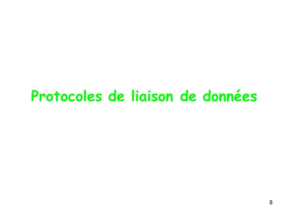 Protocoles de liaison de données