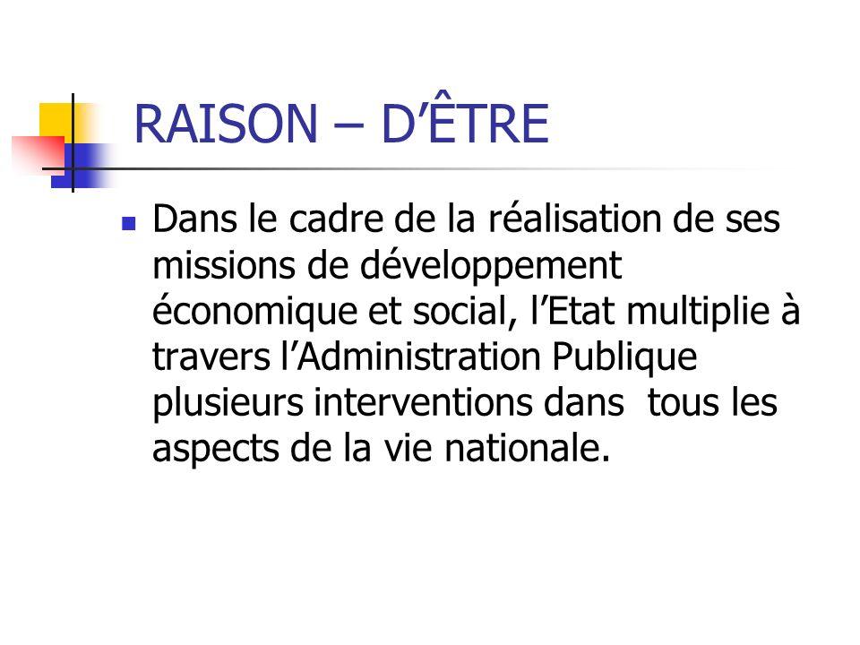 RAISON – D'ÊTRE