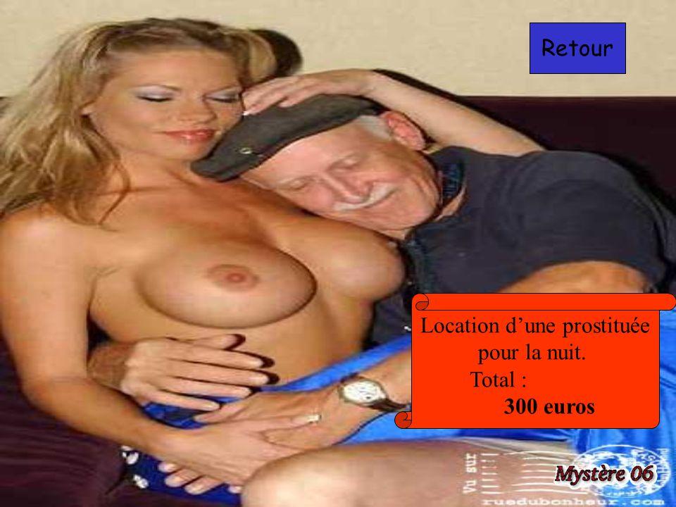 Location d'une prostituée