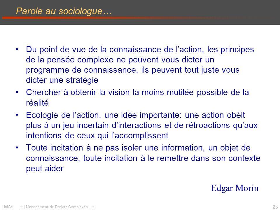 Parole au sociologue… Edgar Morin