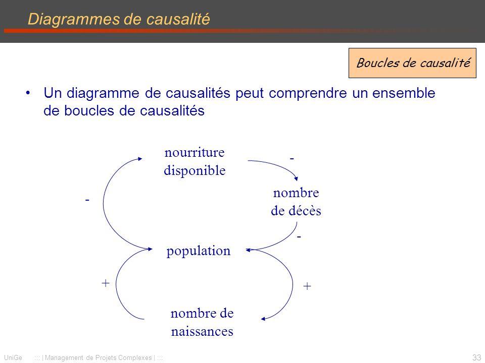 Diagrammes de causalité