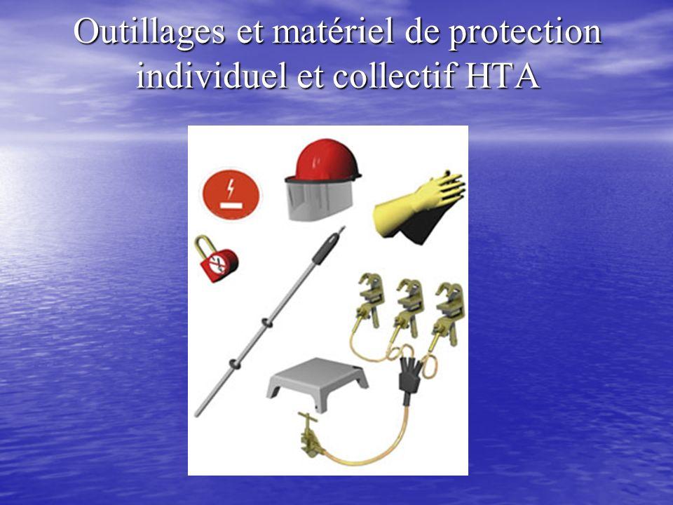 Outillages et matériel de protection individuel et collectif HTA