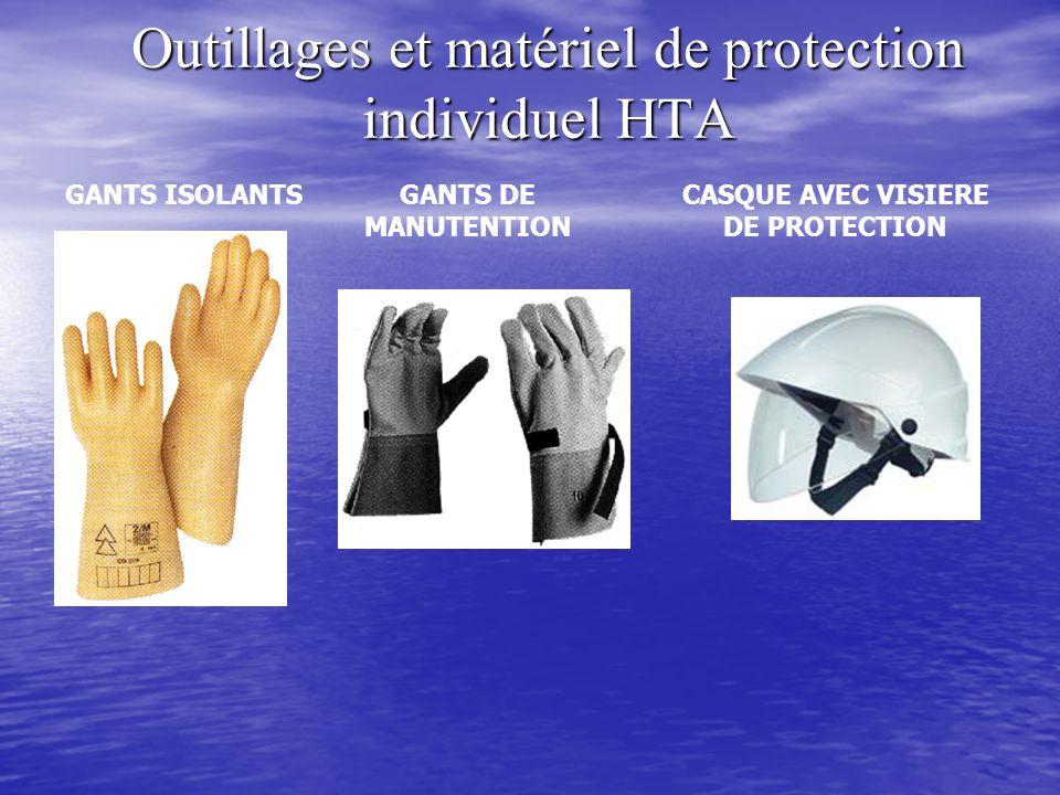 Outillages et matériel de protection individuel HTA