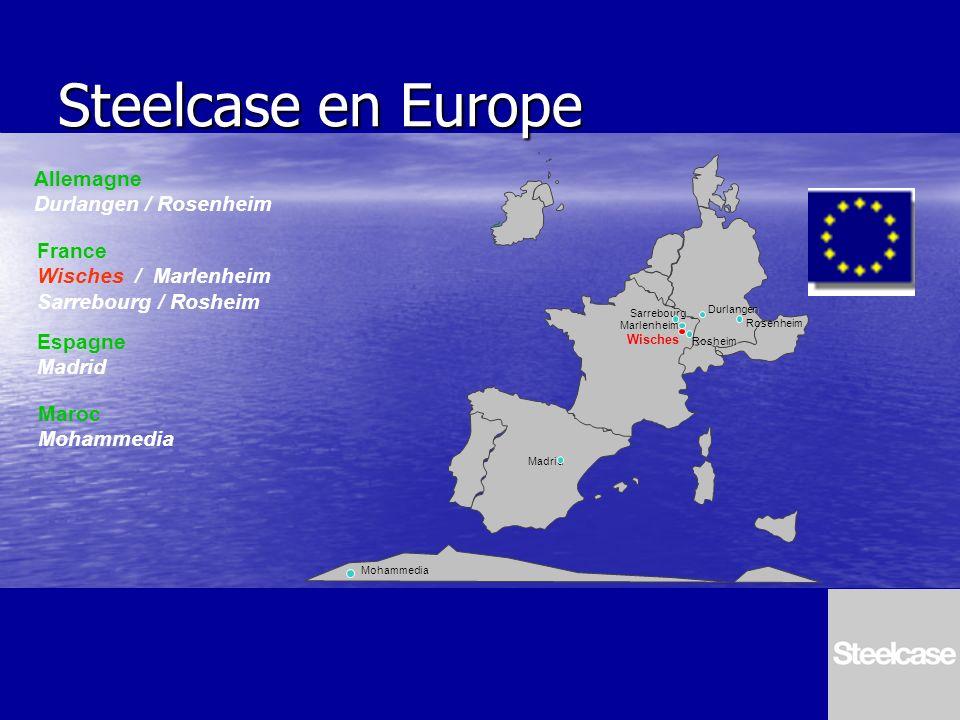 Steelcase en Europe Allemagne Durlangen / Rosenheim France