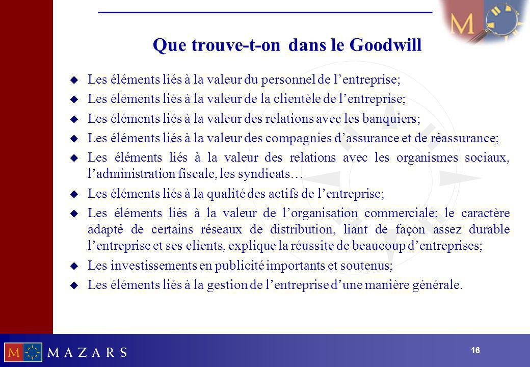 Que trouve-t-on dans le Goodwill