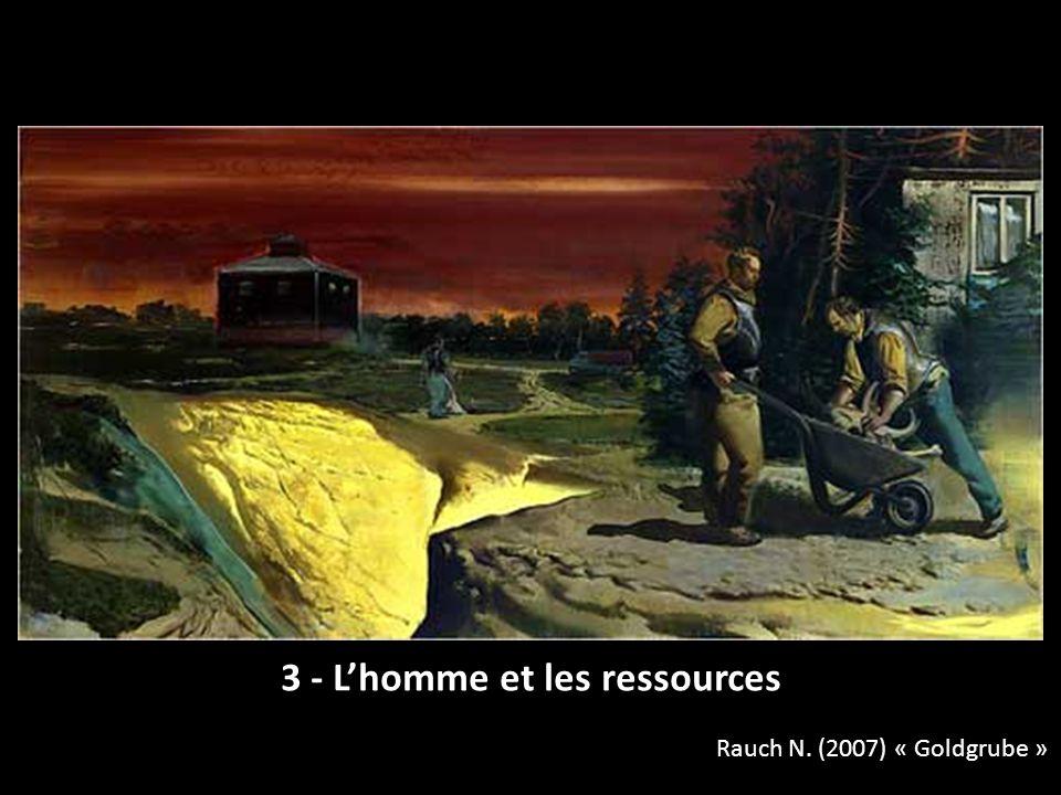 3 - L'homme et les ressources