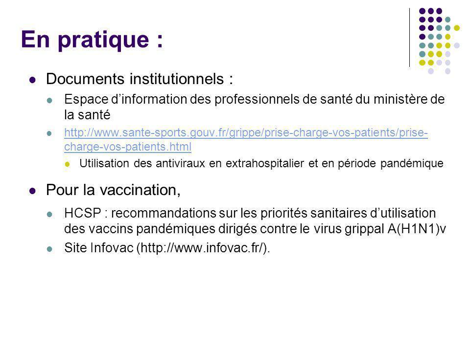 En pratique : Documents institutionnels : Pour la vaccination,