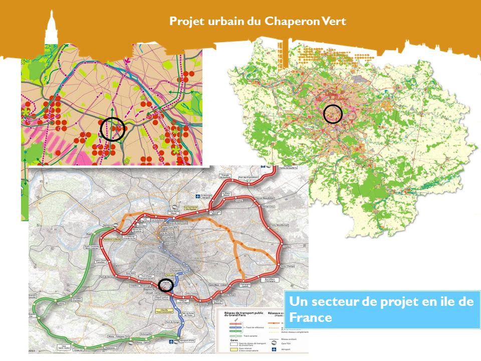 Un secteur de projet en ile de France