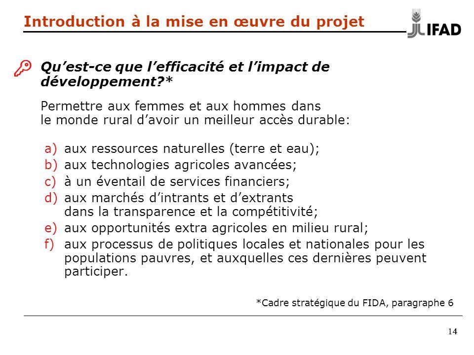 Qu'est-ce que l'efficacité et l'impact de développement *
