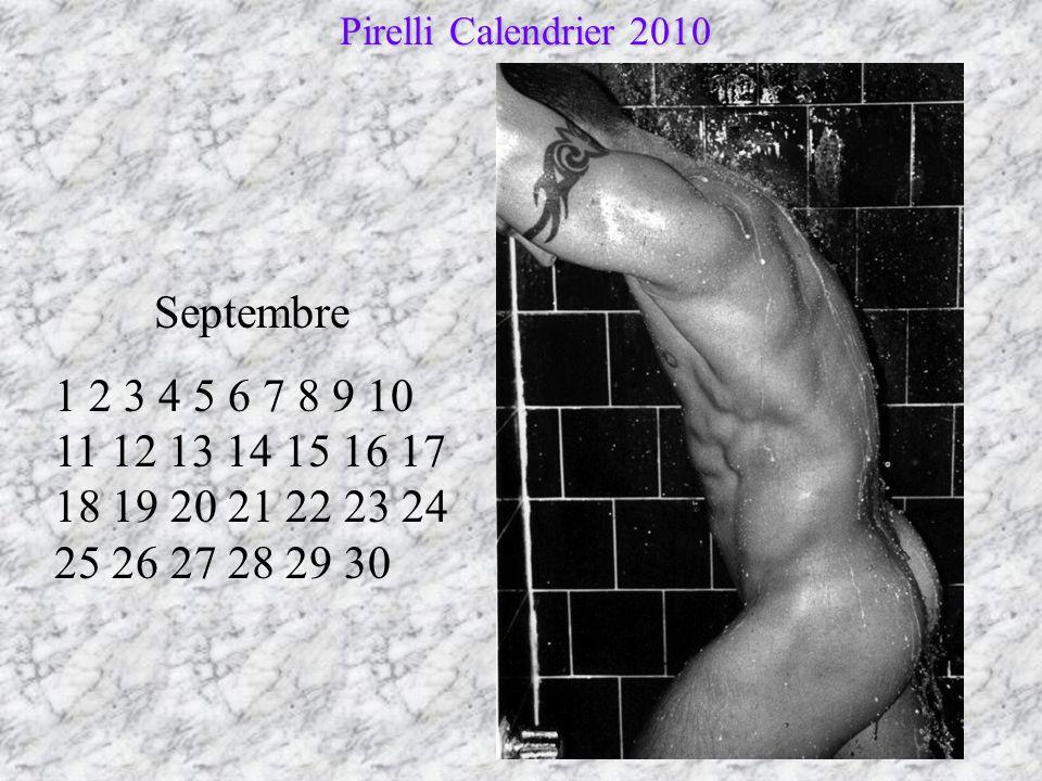 Pirelli Calendrier 2010 Septembre.