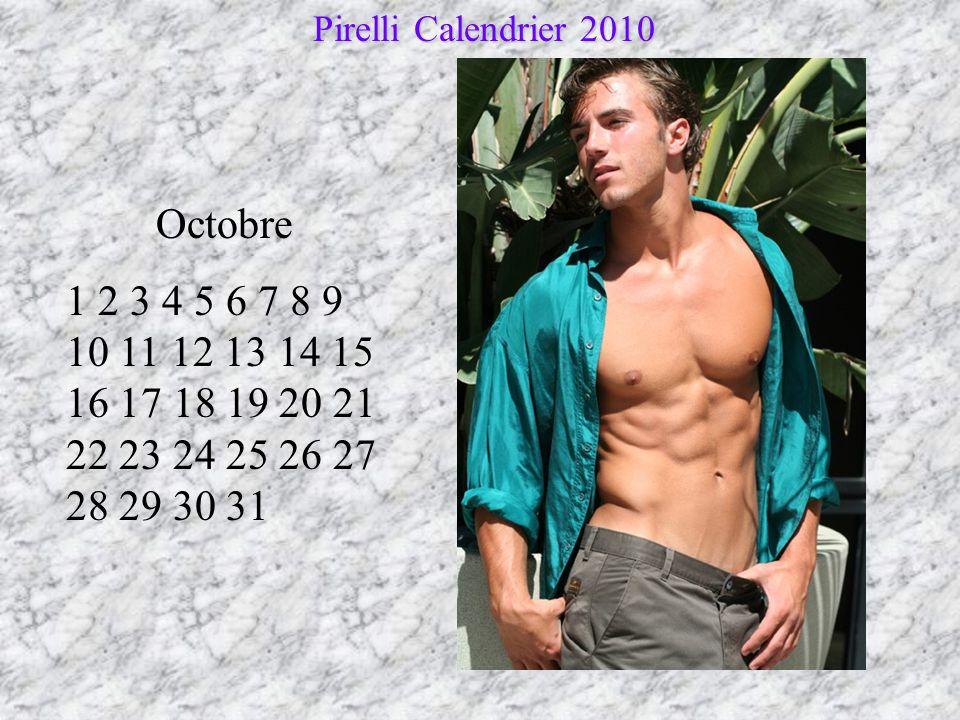 Pirelli Calendrier 2010 Octobre.