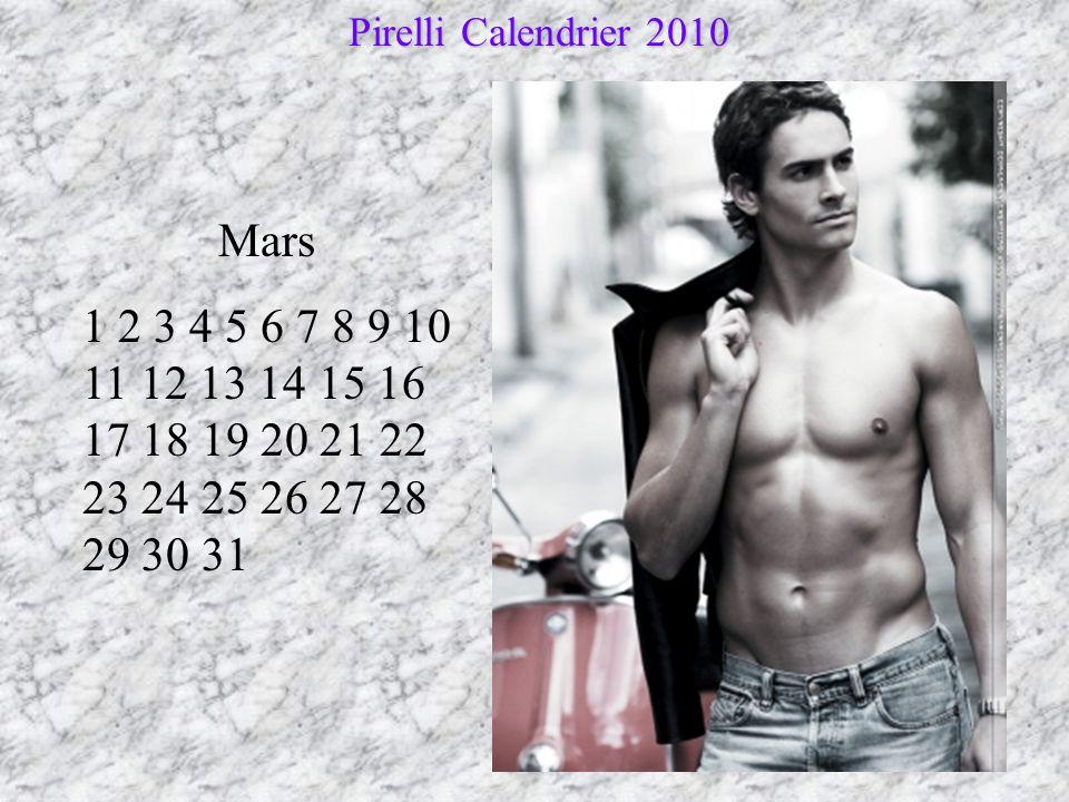 Pirelli Calendrier 2010 Mars.