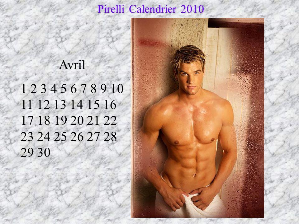 Pirelli Calendrier 2010 Avril.