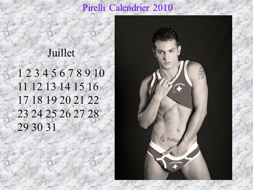 Pirelli Calendrier 2010 Juillet.