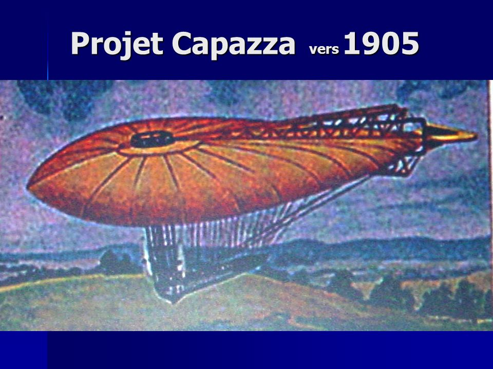 Projet Capazza vers 1905