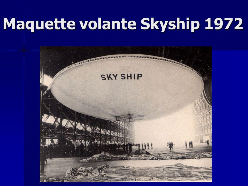 Maquette volante Skyship 1972