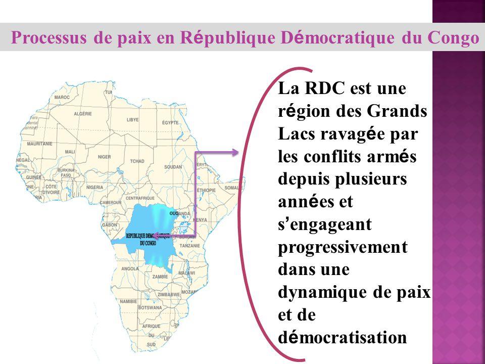 Processus de paix en République Démocratique du Congo