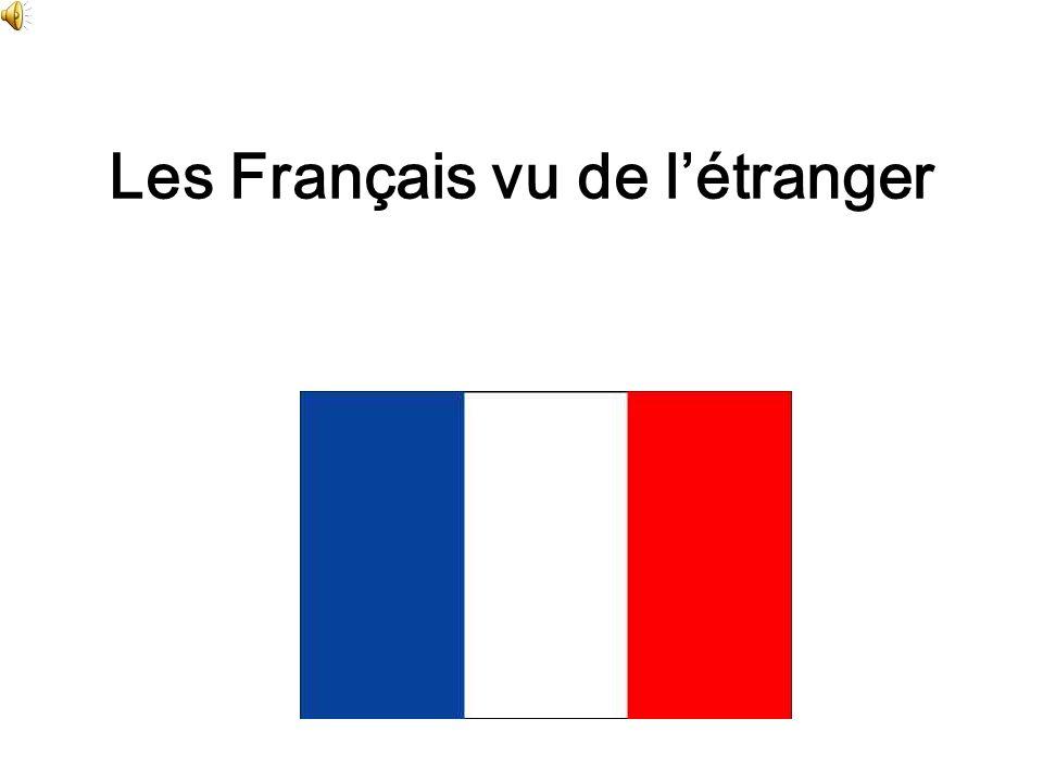 Les Français vu de l'étranger