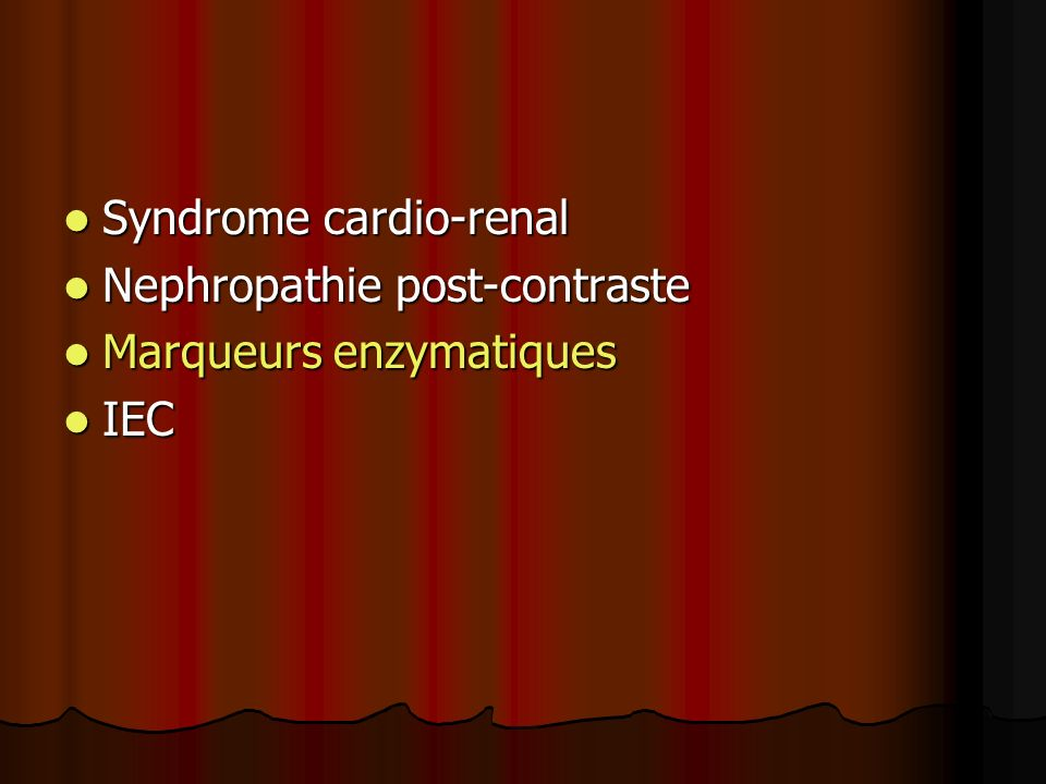 Syndrome cardio-renal