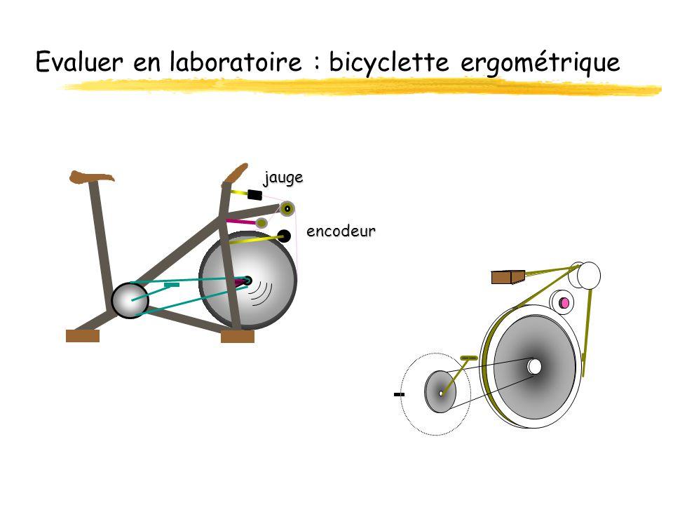 Evaluer en laboratoire : bicyclette ergométrique