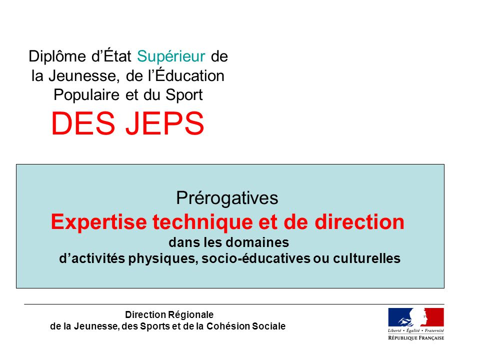 Expertise technique et de direction