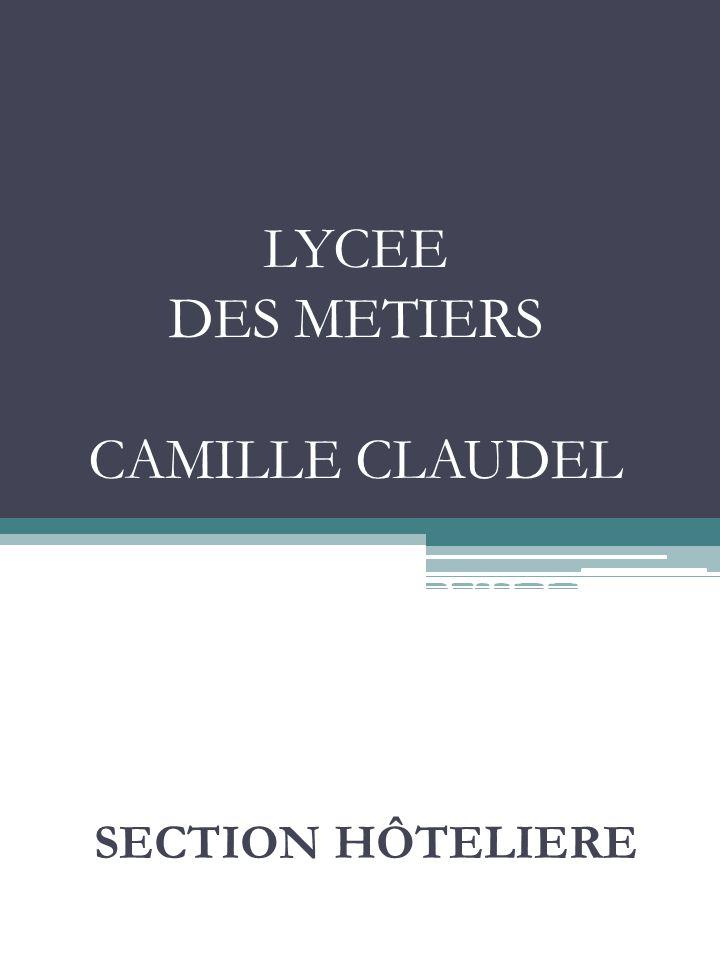 LYCEE DES METIERS CAMILLE CLAUDEL MANTES LA VILLE