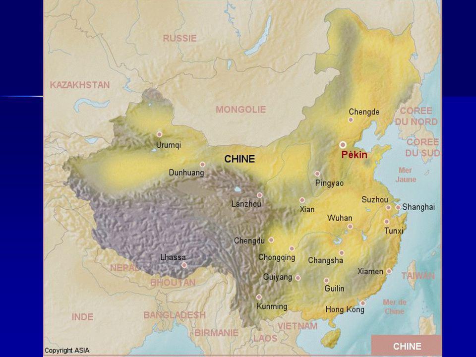 Chine normalité exceptionnelle géographique favorable