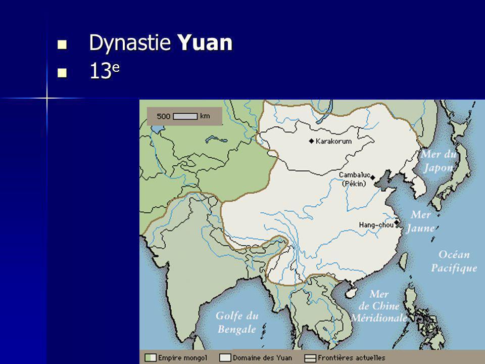 Dynastie Yuan 13e