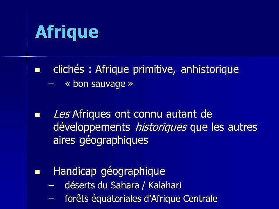 Afrique clichés : Afrique primitive, anhistorique