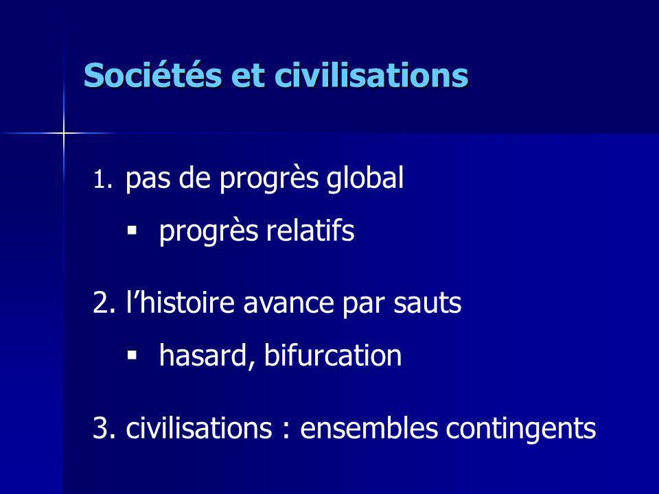 Sociétés et civilisations