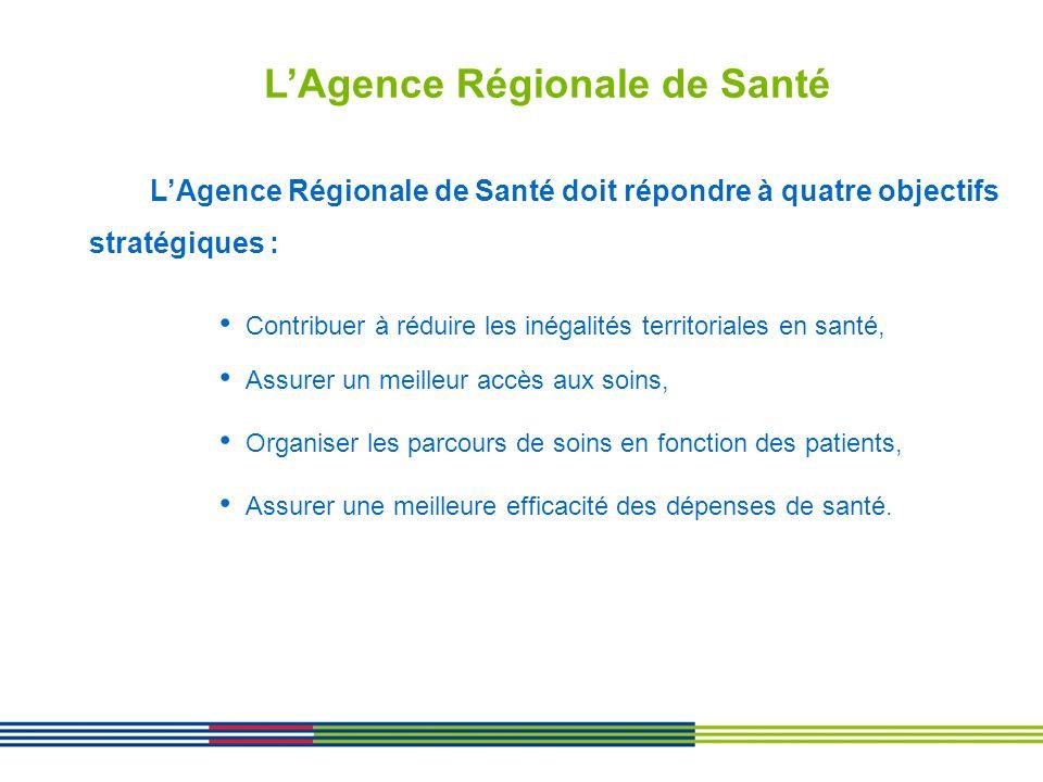 L'Agence Régionale de Santé