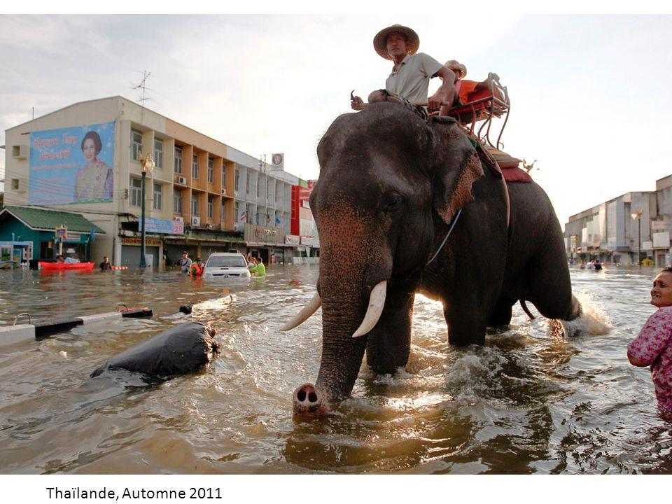 Thaïlande, Automne 2011