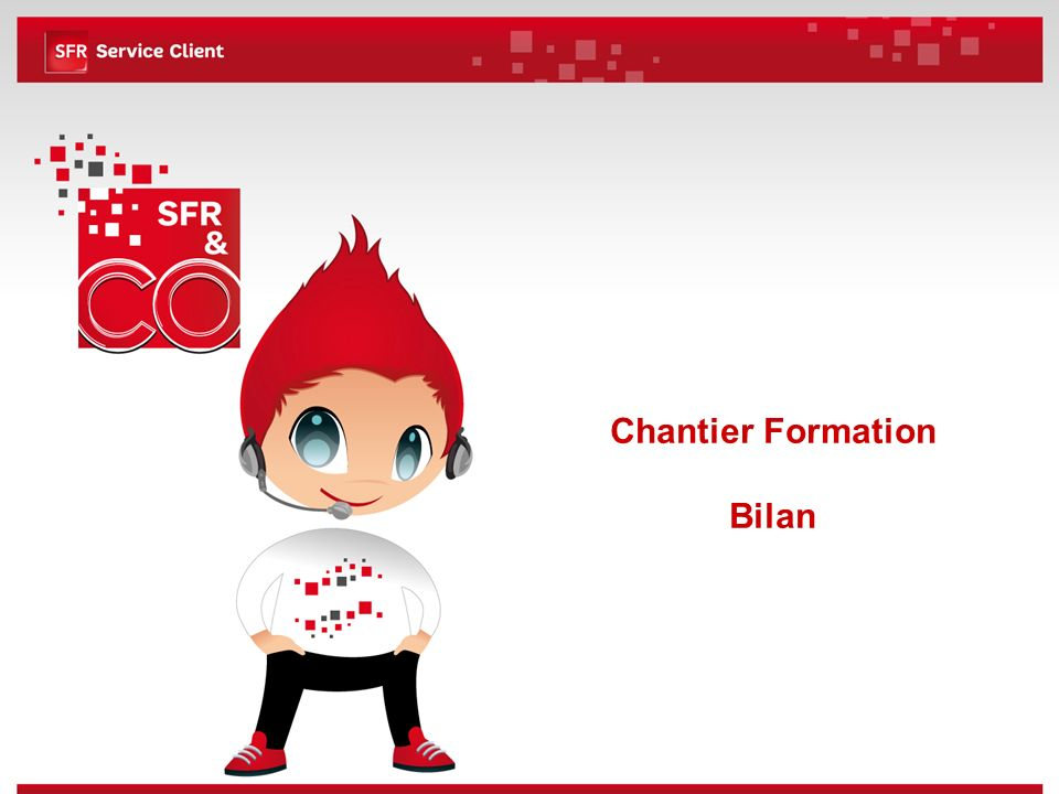 Chantier Formation Bilan