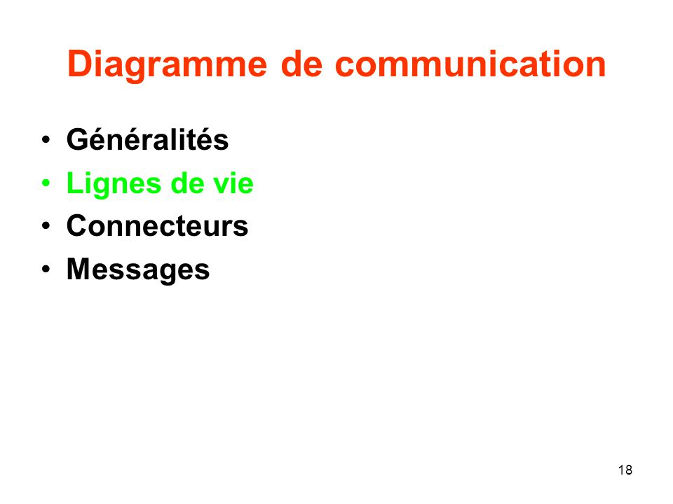 Diagramme de communication