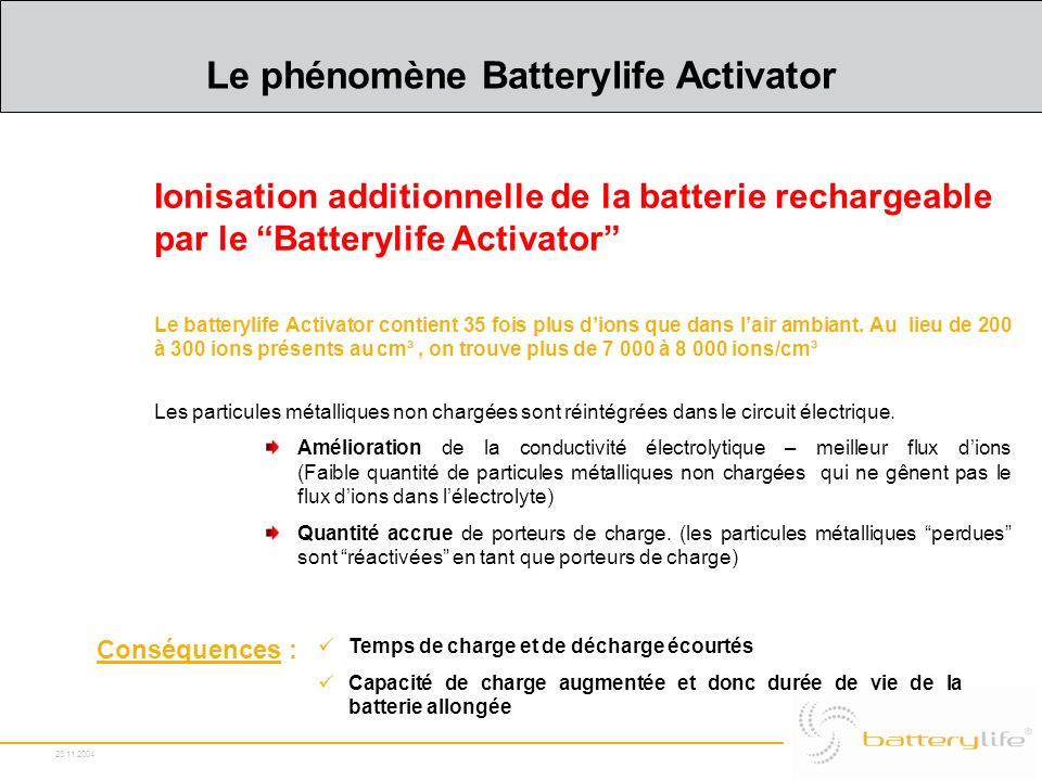 Le phénomène Batterylife Activator