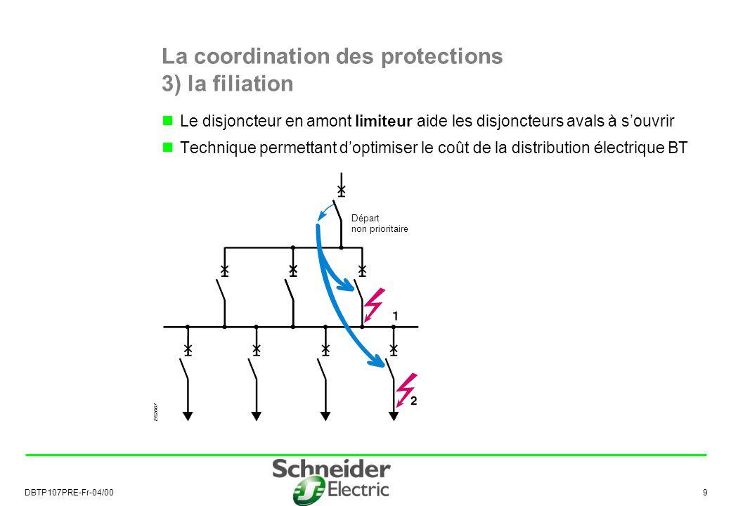 La coordination des protections 3) la filiation
