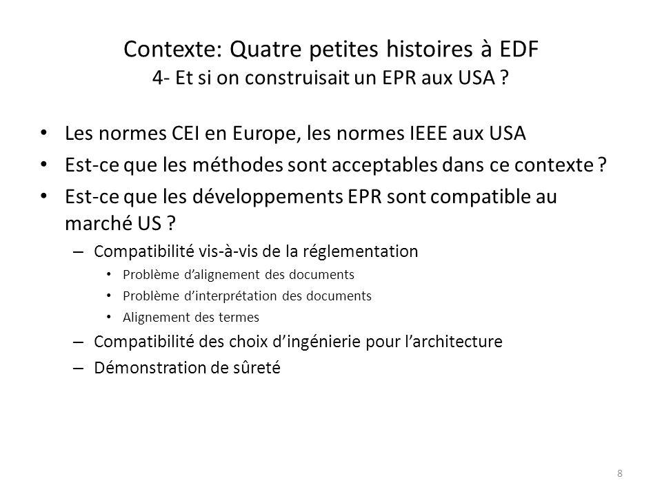 Contexte: Quatre petites histoires à EDF 4- Et si on construisait un EPR aux USA