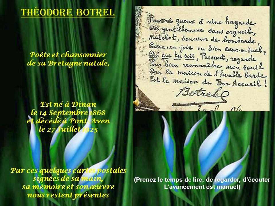 Théodore Botrel Poète et chansonnier de sa Bretagne natale,