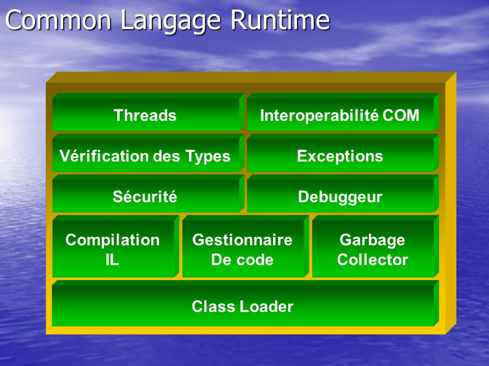 Common Langage Runtime
