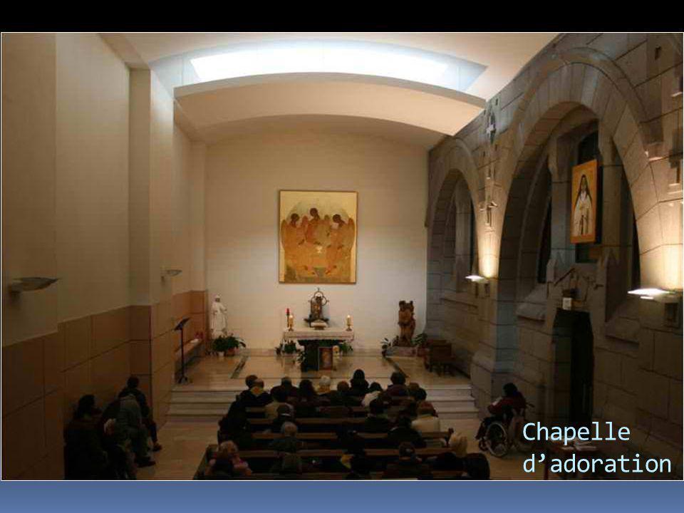 Chapelle d'adoration