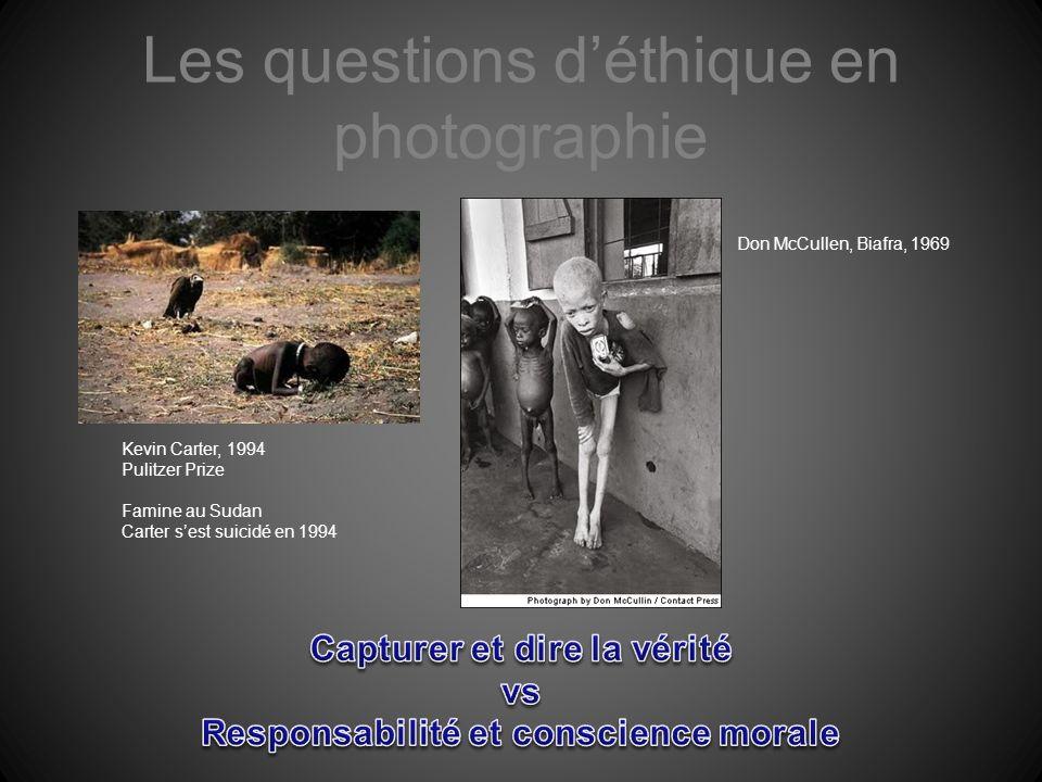 Les questions d'éthique en photographie