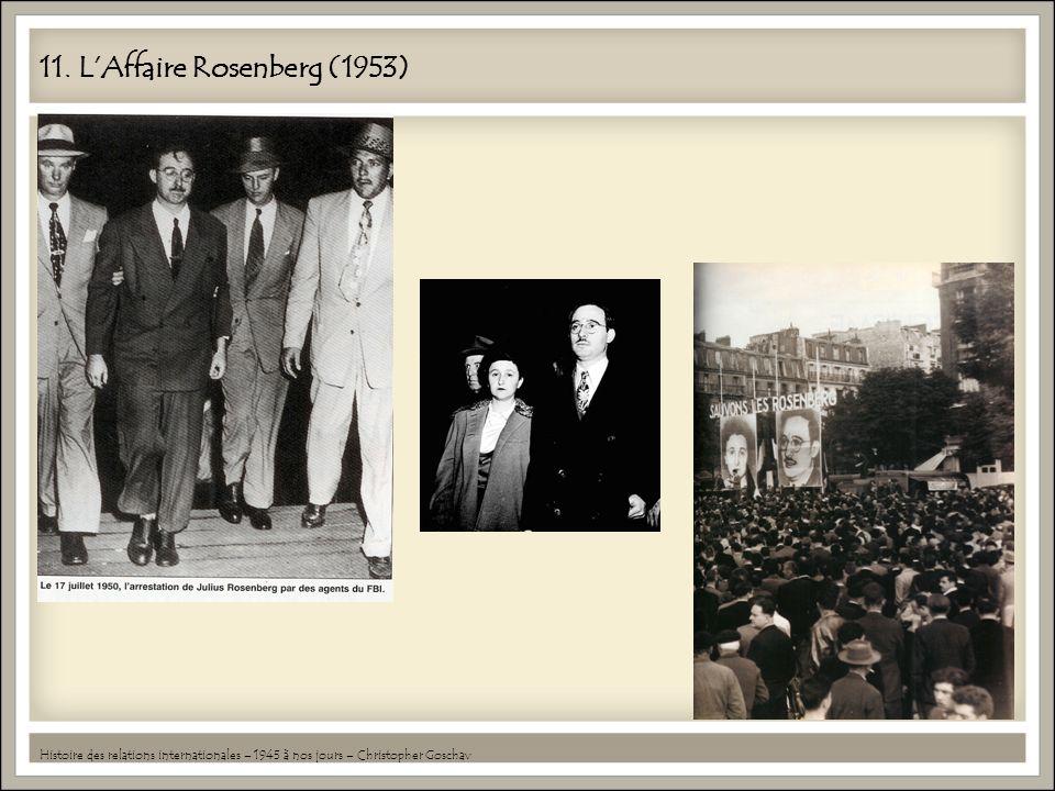 11. L'Affaire Rosenberg (1953)