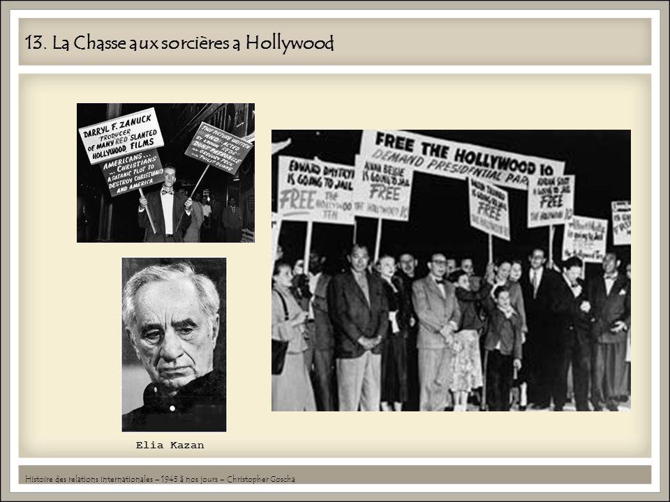 13. La Chasse aux sorcières a Hollywood